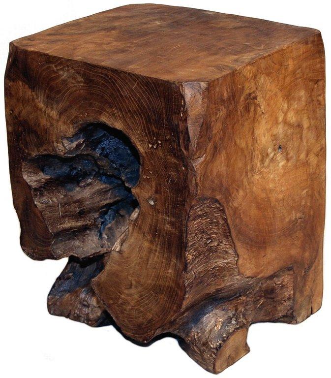 hocker teakholz gewachst h he 40 cm. Black Bedroom Furniture Sets. Home Design Ideas