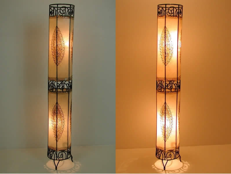"""Orientalische Stehlampe """" Kalifa"""" 130 Cm"""